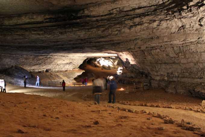 Najdłuższa jaskinia świata - Jaskinia Mamucia