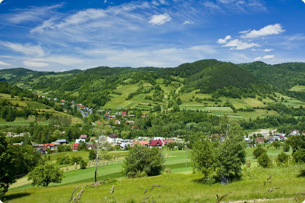 Ochotnica - najdłuższa wieś wPolsce