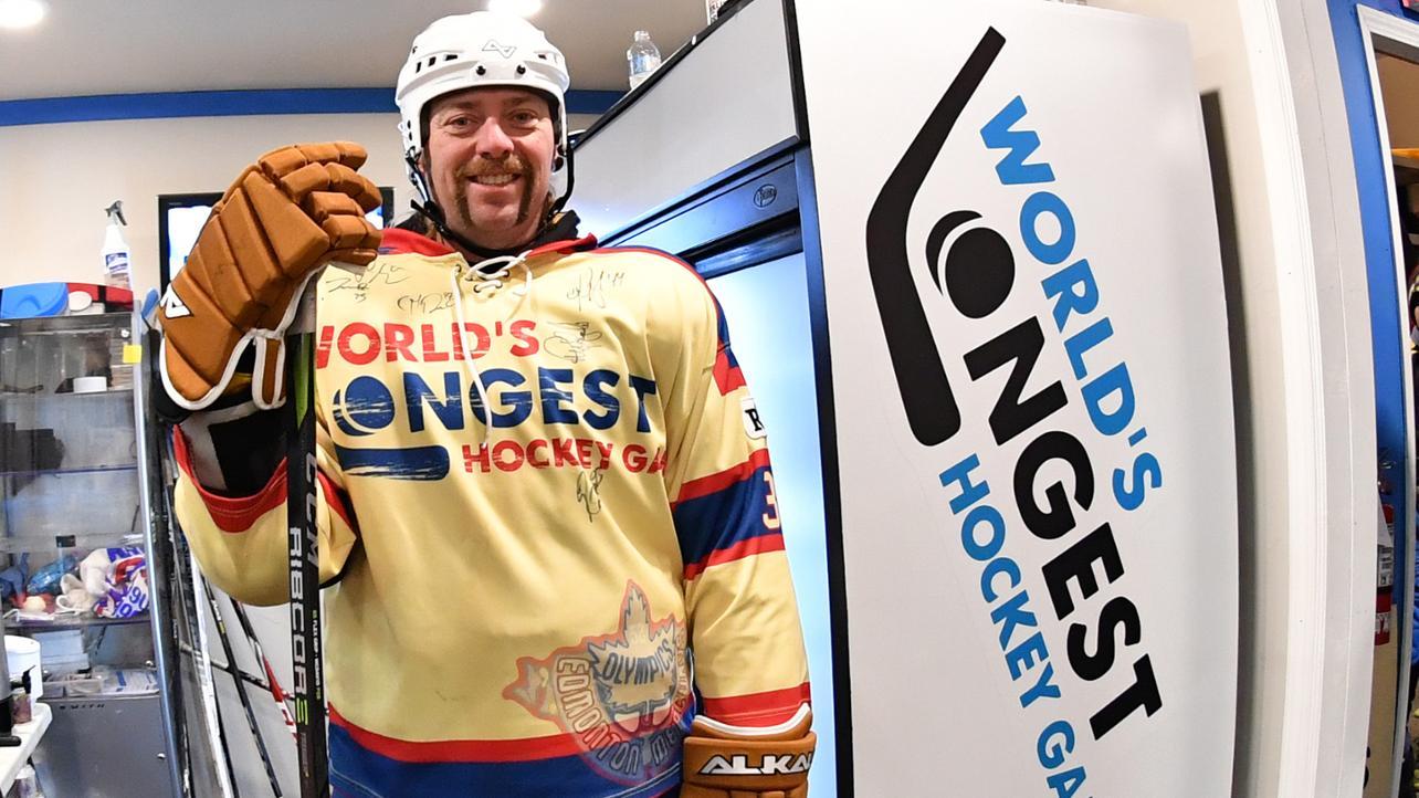 Rekord Guinnessa - hokej