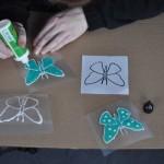 Malowanie motyli - rekord Polski w Poznaniu