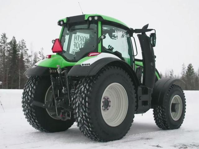 Najszybszy traktor - rekord świata