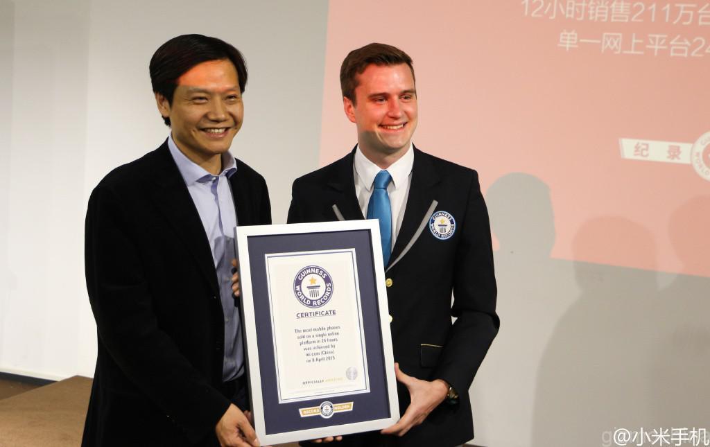 Największa ilość sprzedanych smartfonów - rekord Guinnessa