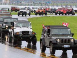 Największa parada jeepów - rekord Guinnessa