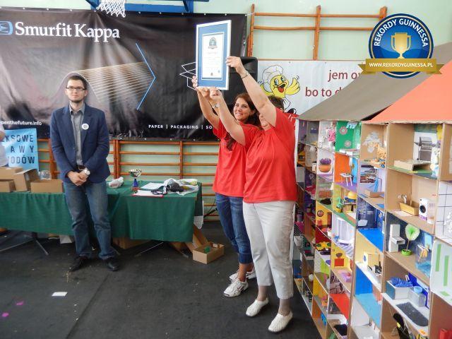 Pruszcz Gdański Miastem Młodych Ekodizajnerów - rekord Polski