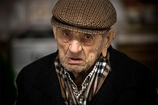 Francisco Nunez Olivera - najstarszy człowiek świata