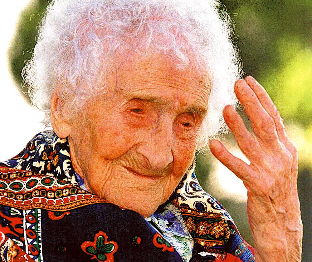 Jeanne Calment - najstarszy człowiek świata
