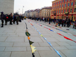 Najdłuższy łańcuch z chust - rekord Polski