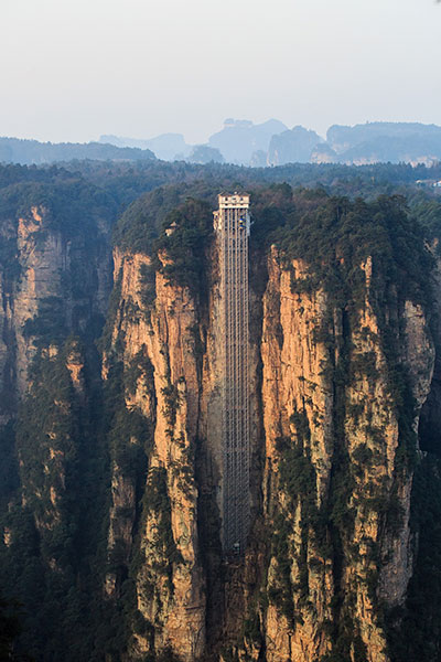 Najwyższa winda świata - rekord Guinnessa