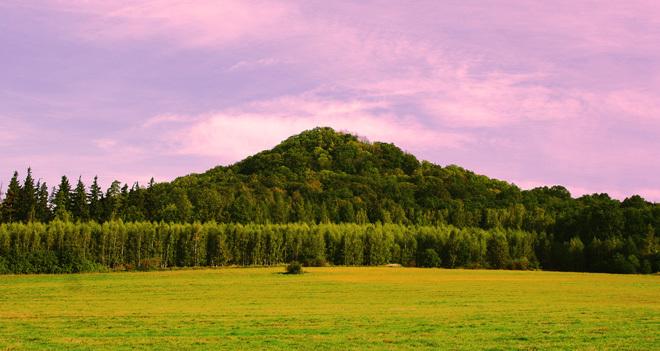 Najwyższy wulkan w Polsce