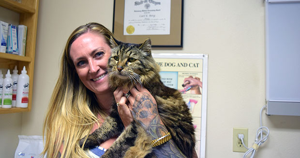Najstarszy kot naświecie - rekord Guinessa
