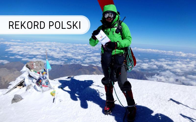 Rekord Polski - Najszybsze dwukrotne zdobycie szczytu Elbrus