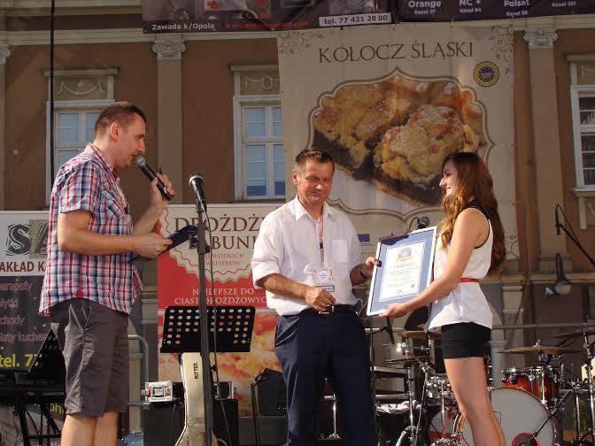 Kołocz śląski - rekord Polski