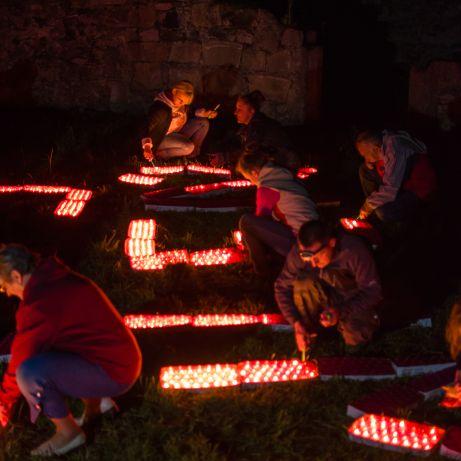 Największa wystawa świeczek - rekord Polski