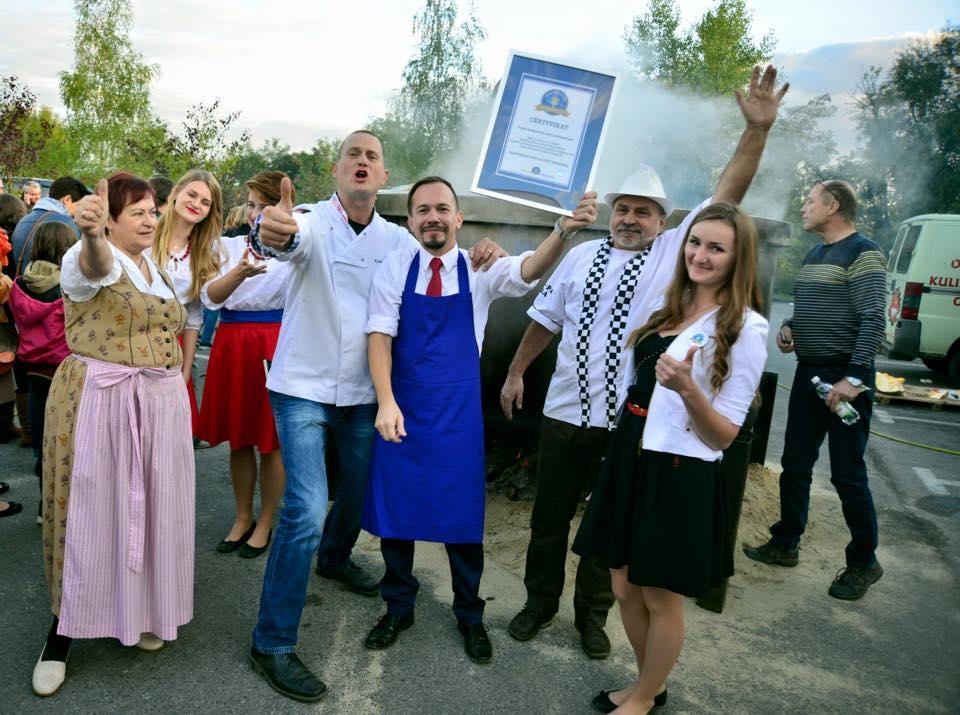 Największa zupa dyniowa - rekord Polski
