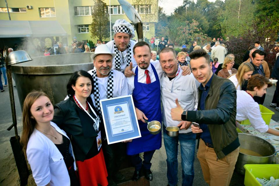 Zupa dyniowa - rekord Polski