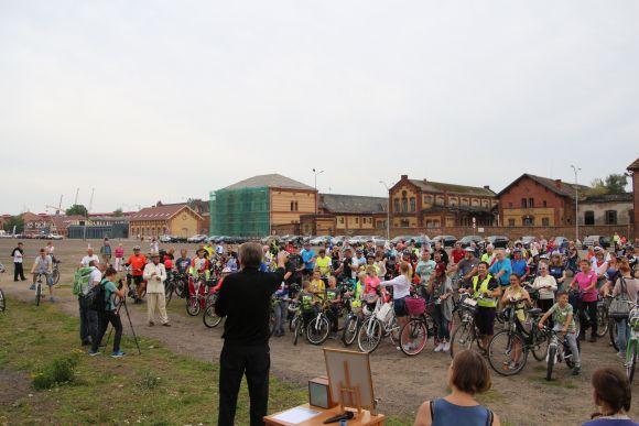 Największa orkiestra dzwonków rowerowych - Rekord Polski 2016