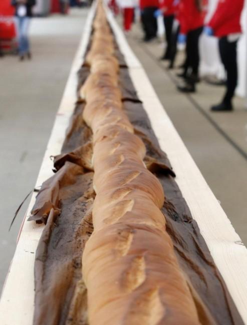 Najdłuższa bagietka - rekord