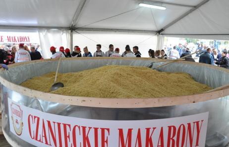 Największa miska makaronu - rekord