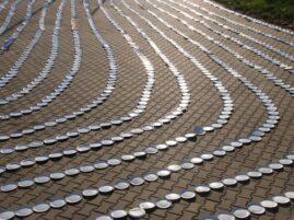 Najdłuższy łańcuch z papierowych talerzyków - rekord Polski