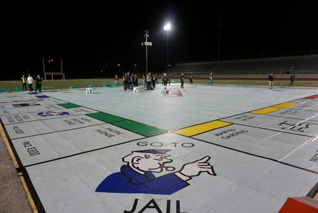 Największa gra planszowa - Monopoly