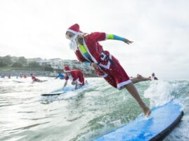 Największa lekcja surfingu