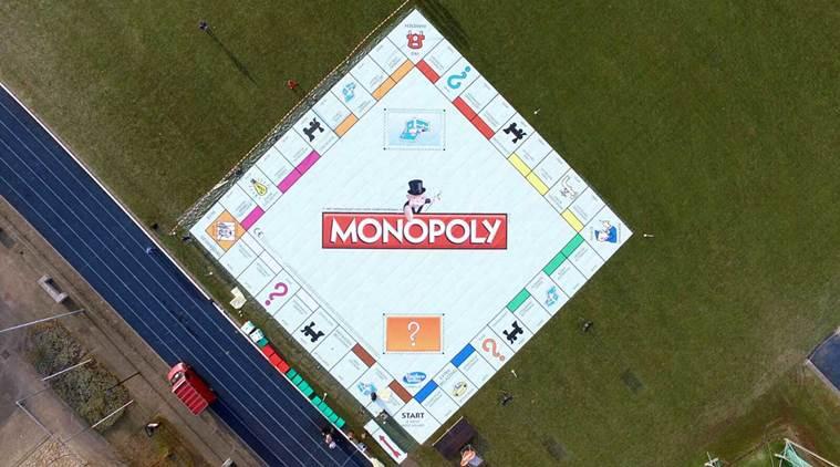 Największa planszówka - Monopoly