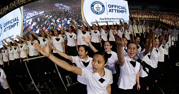 Największy chór gospel - rekord Guinnessa
