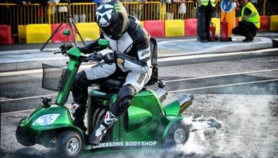 Najszybszy skuter inwalidzki - rekord Guinnessa