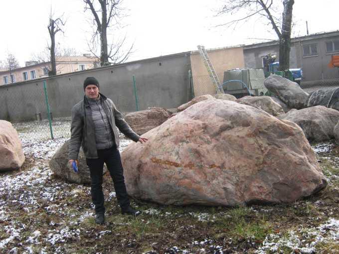 Największa kolekcja głazów narzutowych wPolsce