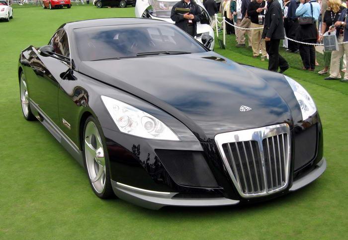 Najdroższy samochód świata - 1 - Maybach Exelero