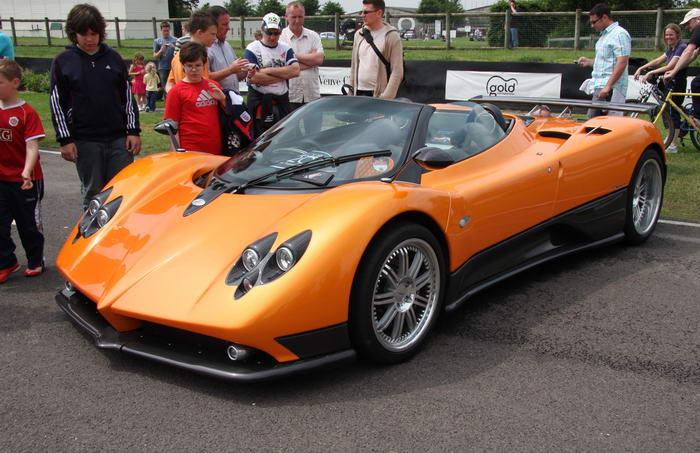Najdroższy samochód świata - 6 - Pagani Zonda