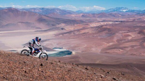 Motocykl elektryczny - najwyżza wysokość