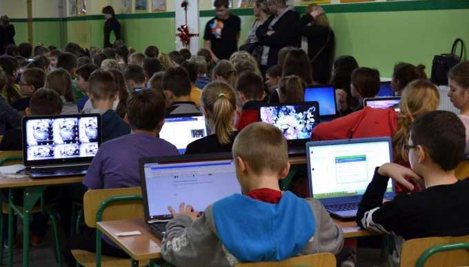 Najliczniejsza lekcja kodowania - rekord Polski