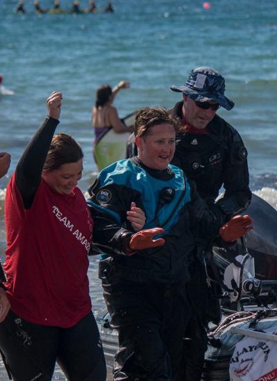 Nurkowanie kobiet wmorzu - rekord