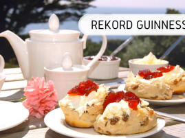 rekord Guinnessa - cream tea