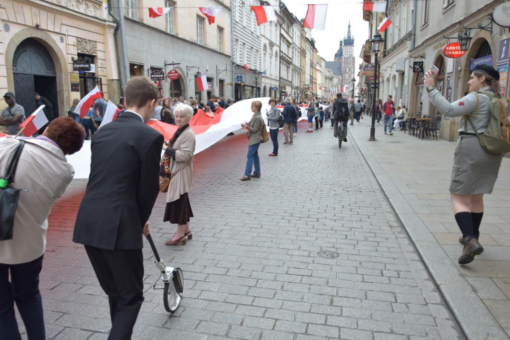 Mierzenie flagi