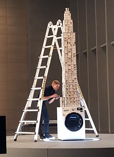 Najwyższy domek zkart - rekord Guinnessa