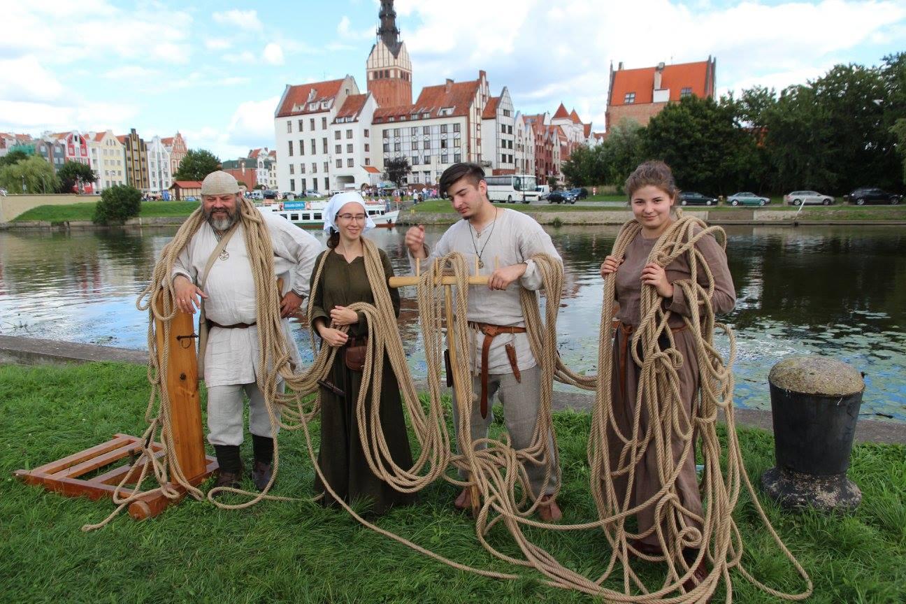 Najdłuższy sznur - Rekord Polski w Elblągu