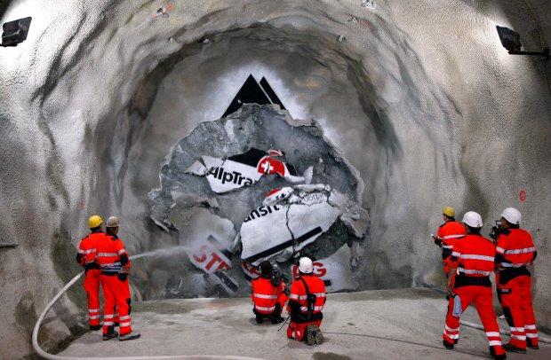 Najdłuższy tunel - rekord