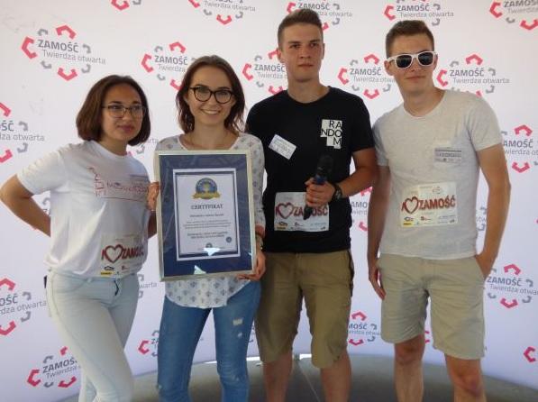 Najwięcej osób tańczących belgijkę jednocześnie - Rekord Polski 2017