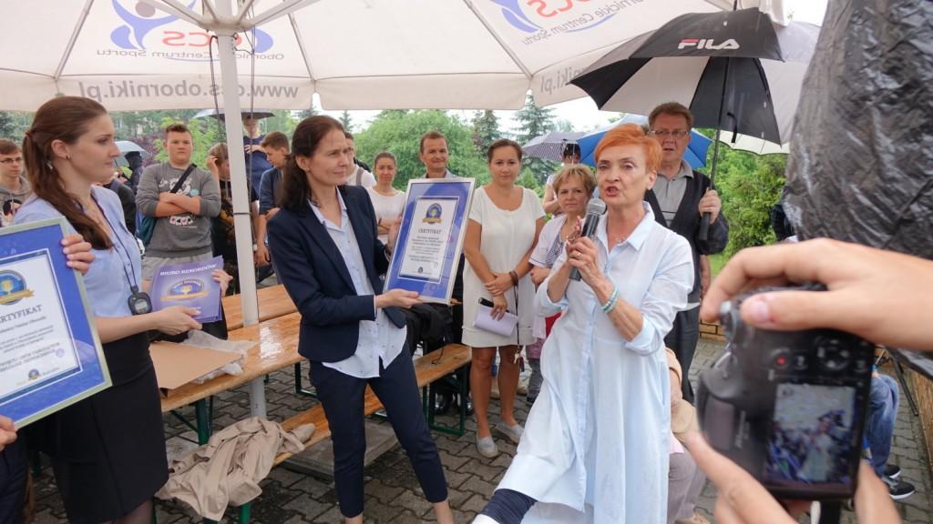 Oborniki - rekord Polski