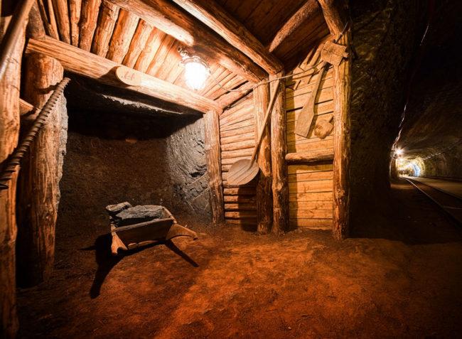 Najstarsza kopalnia soli Bochnia