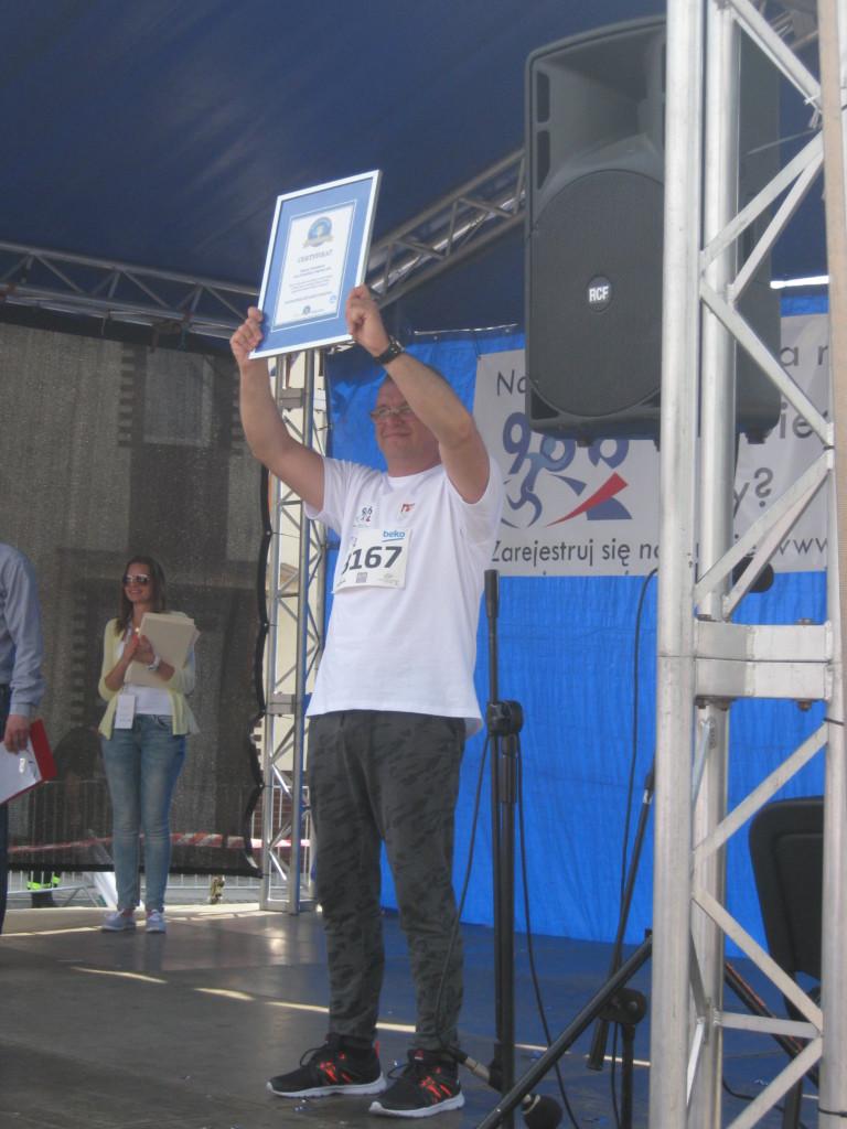 Bieg 966 - Rekord Polski