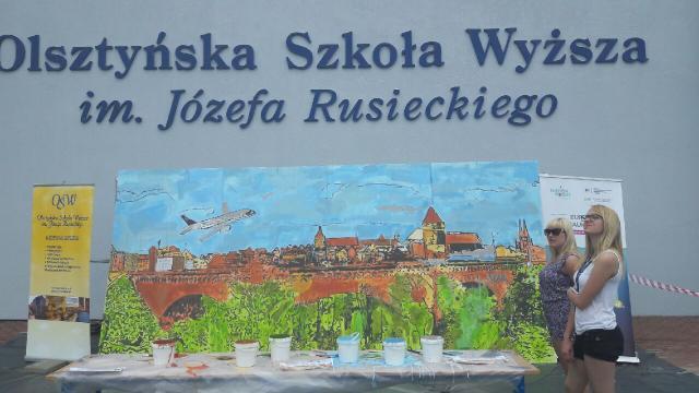 Najwięcej autorów jednego obrazu - Rekord Polski