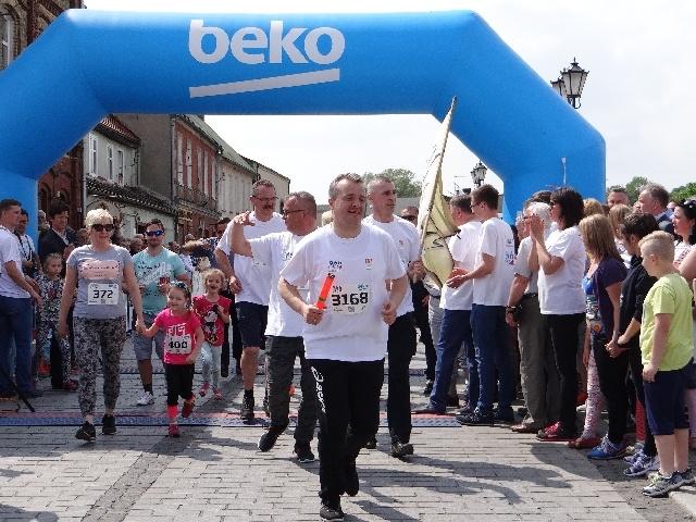 Najdłuższa sztafeta - rekord Polski