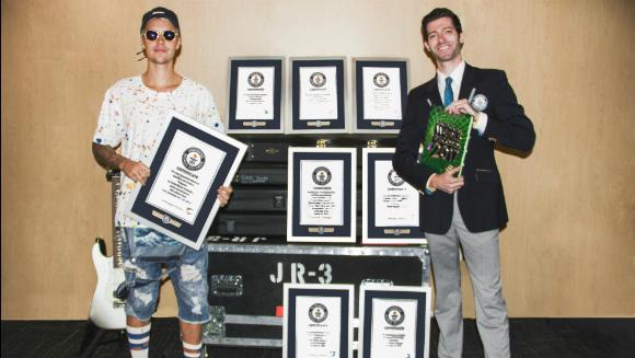 Justin Bieber - rekordy