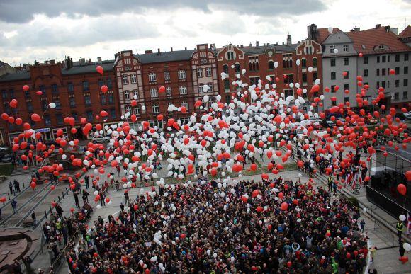 Najwięcej osób wypuszczających balony - rekord 2017