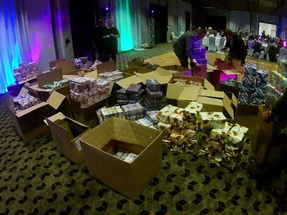 Pakowanie prezentów - Rekord Polski