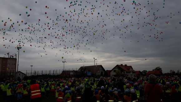 Wypuszczanie balonów - Rekord Polski