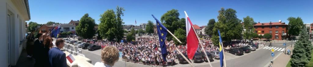 Błonie -panorama